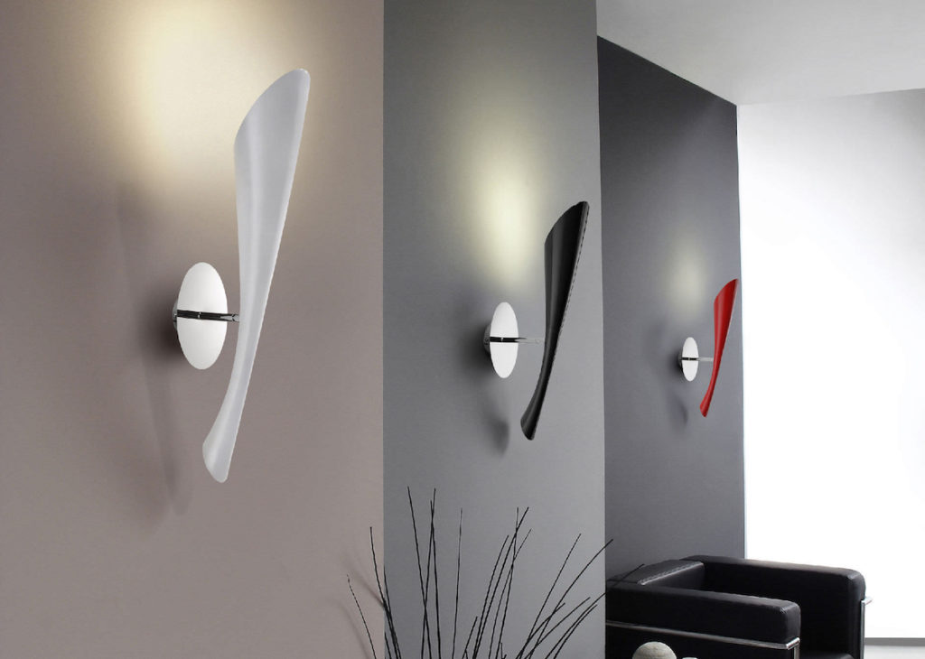 luminaires appliques murales design applique murale blanche design luminaire design sur lampe. Black Bedroom Furniture Sets. Home Design Ideas