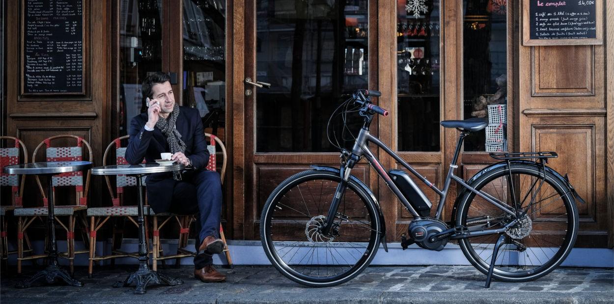 Vélo électrique occasion en ville