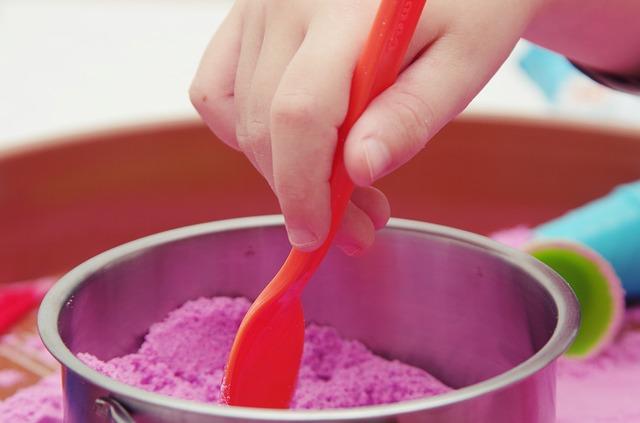 sable coloré enfant